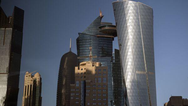 Wieżowce w stolicy Kataru, Dosze - Sputnik Polska
