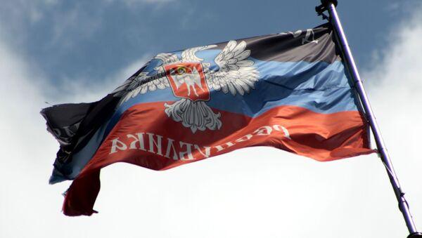 Flaga DRL - Sputnik Polska