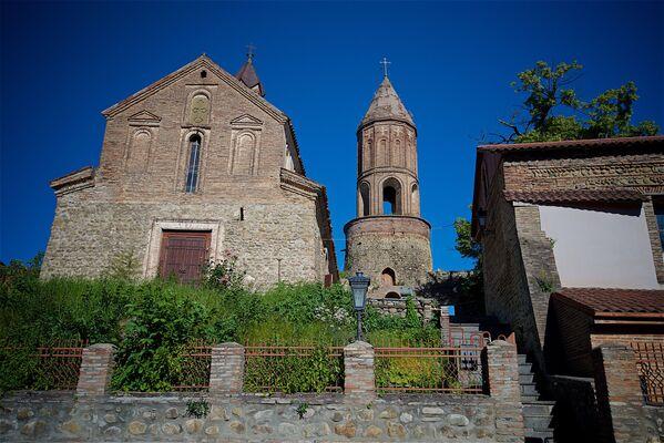 Kościół św. Jerzego w Sighnaghi - Sputnik Polska