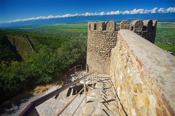 Mur obronny w pobliżu miasta Sighnaghi - Sputnik Polska