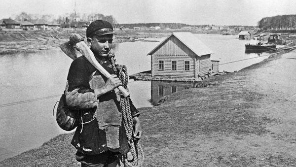 Najemny robotnik w Niżnym Nowogrodzie. - Sputnik Polska