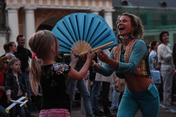 Podczas XIV Międzynarodowego Festiwalu Usad'ba Jazz w muzeum folwarku Archangielskoje. - Sputnik Polska