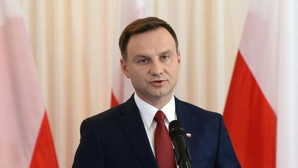 Prezydent elekt Andrzej Duda - Sputnik Polska