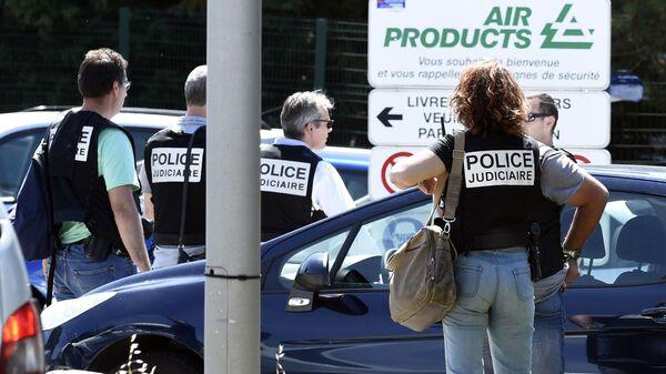 Atak terrorystyczny w zakładach gazowych we francuskim Saint-Quentin-Fallavier - Sputnik Polska