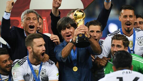 Zwycięzcy Pucharu Konfederacji 2017 - reprezentacja Niemiec - Sputnik Polska