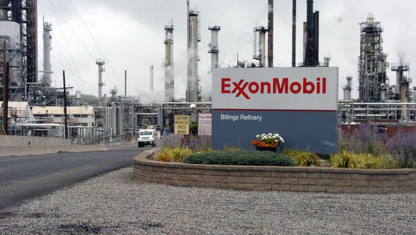 Fabryka koncernu Exxon Mobil - Sputnik Polska