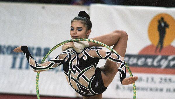 Mistrzni olimpijska w gimnastyce artystycznej Alina Kabajewa - Sputnik Polska