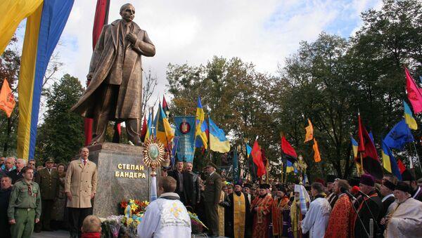 Pomnik Stiepana Bandery - Sputnik Polska