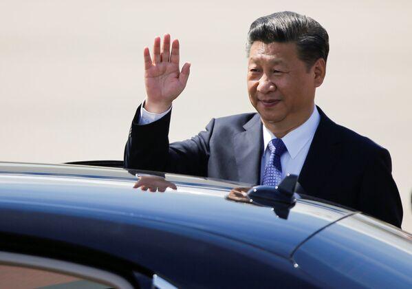 Prezydent Chin Xi Jinping - Sputnik Polska