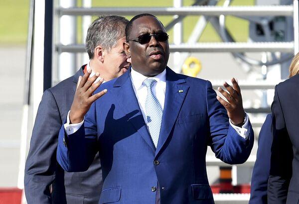 Prezydent Senegalu Macky Sall - Sputnik Polska