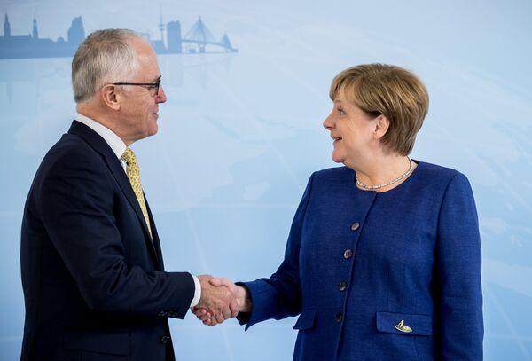 Premier Australii Malcolm Turnbull - Sputnik Polska