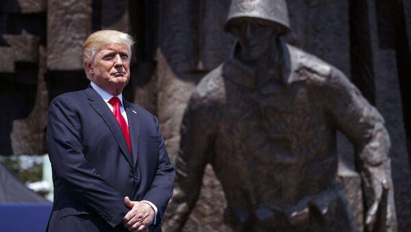 Wizyta prezydenta USA Donalda Trumpa w Warszawie - Sputnik Polska