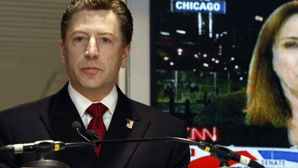 Specjalny wysłannik USA na Ukrainie Kurt Volker - Sputnik Polska