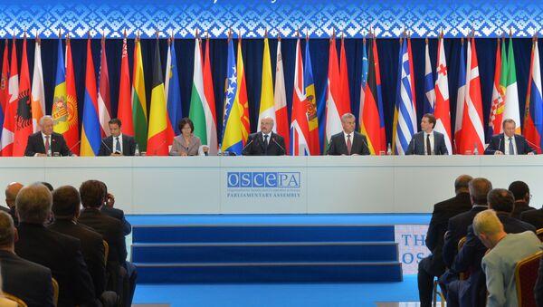 Sesja Zgromadzenia Parlamentarnego OBWE - Sputnik Polska