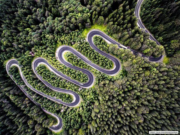 Zdjęcie Nieskończona droga do Transylwanii. II miejsce w kategorii Natura. - Sputnik Polska