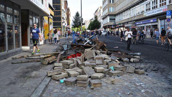 Zamieszki w Hamburgu - Sputnik Polska