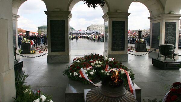 Plac Piłsudskiego w Warszawie - Sputnik Polska