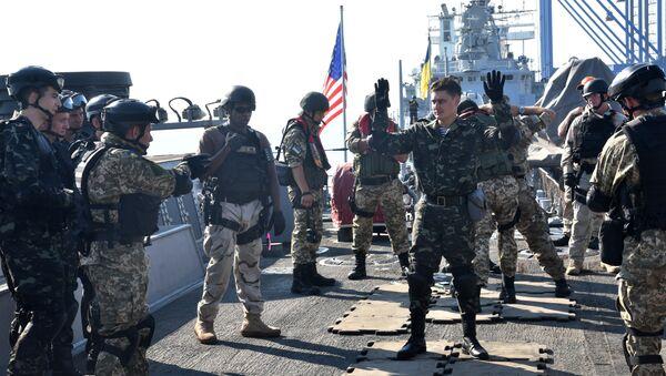 Ukraińsko-amerykańskie manewry Sea Breeze 2015 - Sputnik Polska