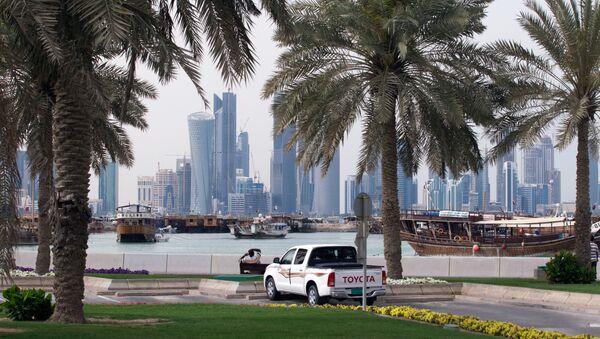 Nabrzeże Corniche w stolicy Kataru Dosze - Sputnik Polska