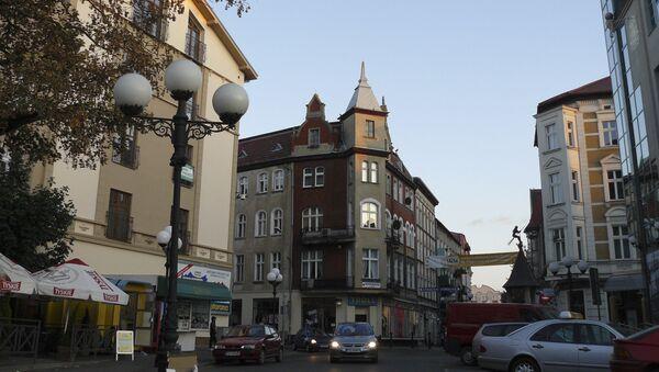 Центр польского города Гожув-Велькопольский - Sputnik Polska