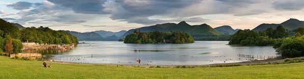 Jezioro Derwent-Uote na terytorii Lake District National Park w Wielkiej Brytanii - Sputnik Polska