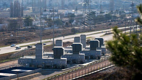 Turbiny gazowe w Sewastopolu - Sputnik Polska