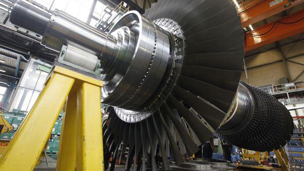Wirnik turbiny gazowej Siemensa - Sputnik Polska