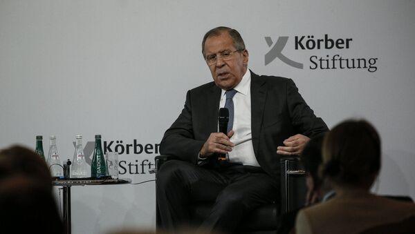 Wystąpienie ministra spraw zagranicznych Rosji Siergieja Ławrowa w Fundacji im. Korbera, Berlin - Sputnik Polska
