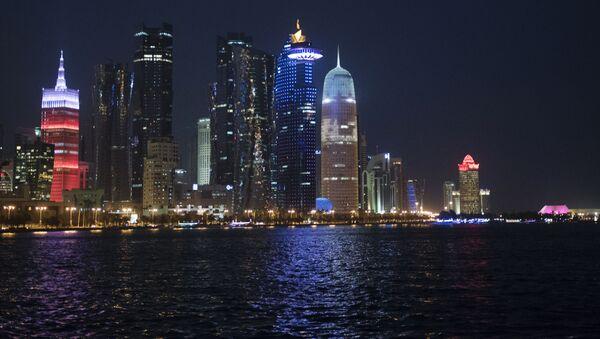 Wybrzeże w stolicy Kataru, Dosze - Sputnik Polska