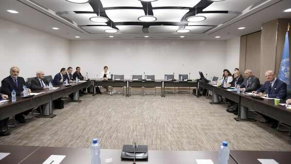 Siódma runda rozmów pokojowych w sprawie Syrii w Genewie - Sputnik Polska