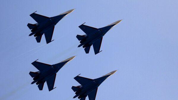 Samoloty przechwytujące Su-27 - Sputnik Polska