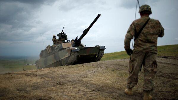 Amerykański czołg Abrams - Sputnik Polska