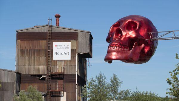 Terytorium galerii sztuki NordArt w Budelsdorfie - Sputnik Polska