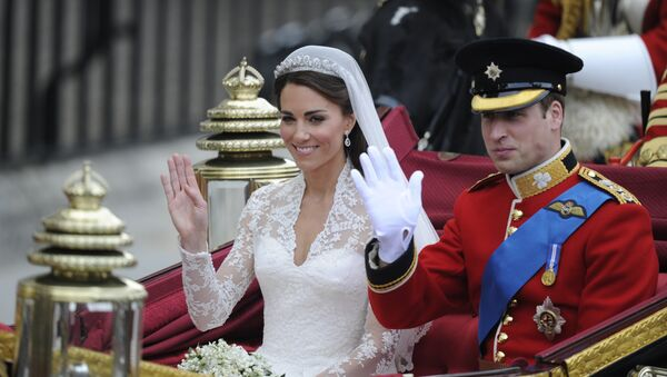 Książę William i księżna Kate - Sputnik Polska