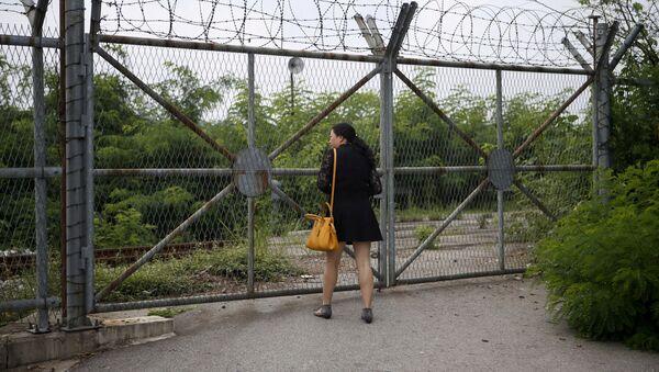 Strefa zdemilitaryzowana między KRLD i Koreą Południową - Sputnik Polska