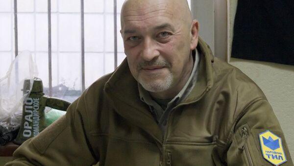 Kierownik i założyciel grupy ochotniczej Tył Ludowy Georgij Tuka - Sputnik Polska