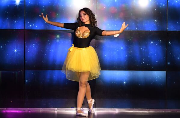 Występ uczestniczki talent show Miss Moskwy. - Sputnik Polska