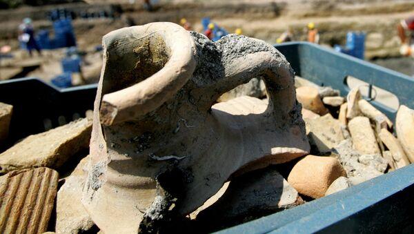 Wykopaliska archeologiczne w Turcji. Zdjęcie archiwalne - Sputnik Polska