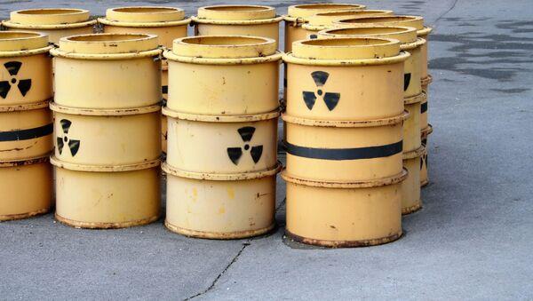 Zbiorniki z odpadami promieniotwórczymi - Sputnik Polska