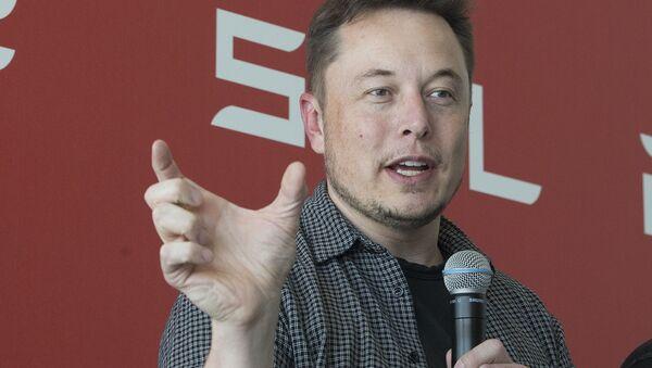 Szef koncernów SpaceX i Tesla Elon Musk - Sputnik Polska