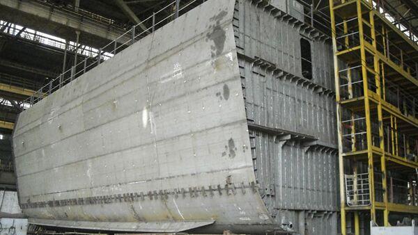 Budowa ukraińskiej korwety projektu 58250 - Sputnik Polska