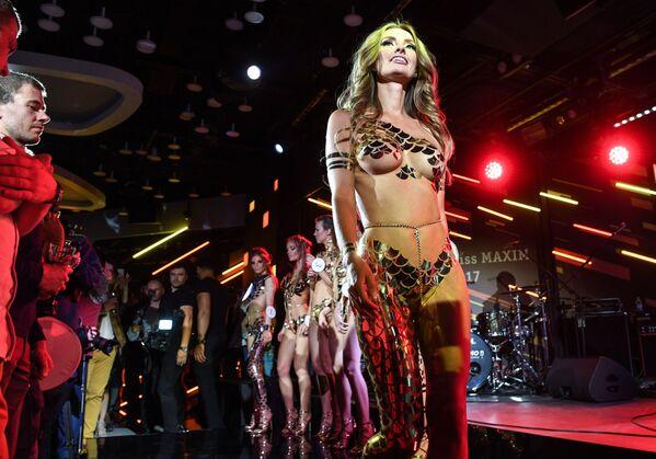 Участница конкурса красоты Miss Maxim 2017 в Москве Кристина Чебан из Читы - Sputnik Polska