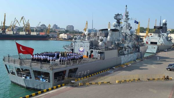 Okręty NATO w porcie Odessy - Sputnik Polska