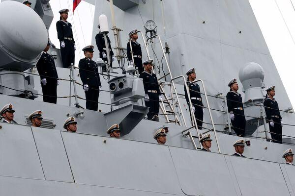 Wojskowi wojenno-morskich sił Chin przybyli do portu w Bałtyjsku - Sputnik Polska