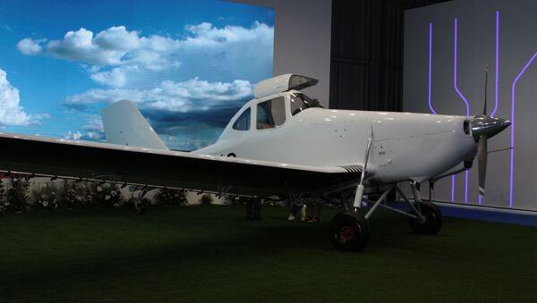 Samolot T-500 na wystawie MAKS-2017 - Sputnik Polska