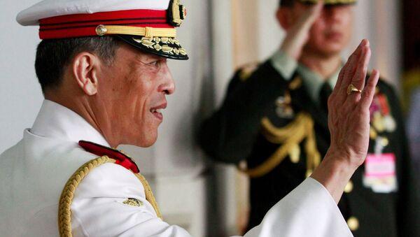Tajski książę Maha Vajiralongkorn - Sputnik Polska