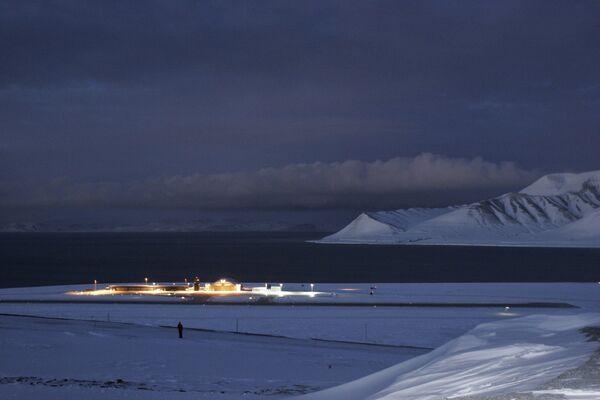 Port lotniczy Svalbard, Norwegia - Sputnik Polska