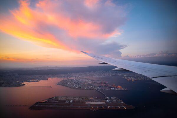 Międzynarodowe lotnisko Kansai, Osaka, Japonia - Sputnik Polska