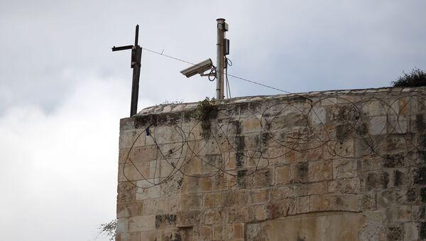 Kamery wideo na Starym Mieście w Jerozolimie - Sputnik Polska