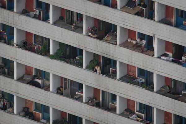 Balkony w Pjongjangu - Sputnik Polska